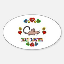 Rat Lover Decal