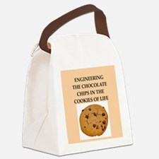 engineering Canvas Lunch Bag