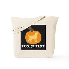 """Labrador Retriever """"Trick or Treat"""" Tote Bag"""
