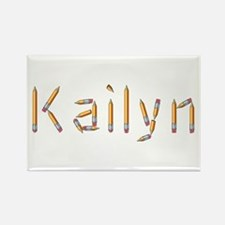 Kailyn Pencils Rectangle Magnet