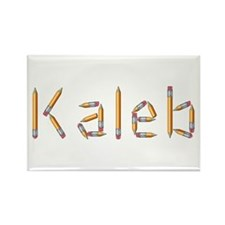 Kaleb Pencils Rectangle Magnet