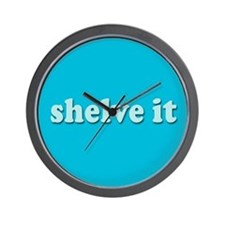 Shelve it Wall Clock