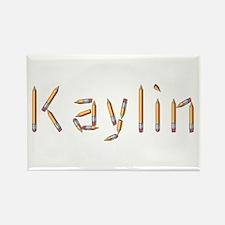 Kaylin Pencils Rectangle Magnet