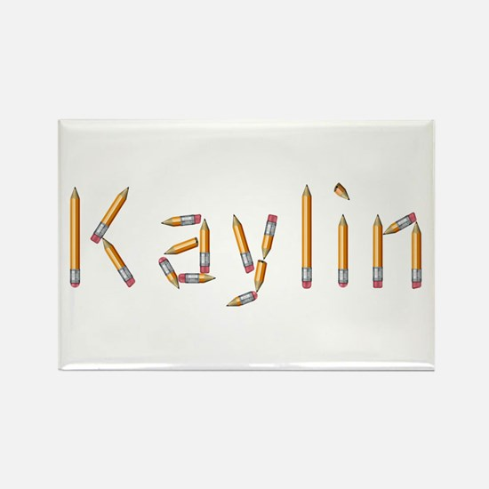 Kaylin Pencils Rectangle Magnet