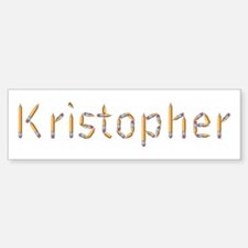 Kristopher Pencils Bumper Bumper Bumper Sticker