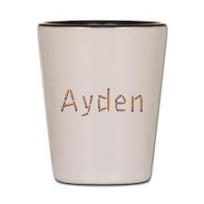 Ayden Pencils Shot Glass