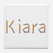 Kiara Pencils Tile Coaster