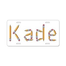 Kade Pencils Aluminum License Plate