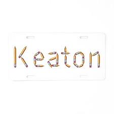 Keaton Pencils Aluminum License Plate