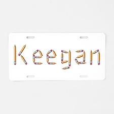 Keegan Pencils Aluminum License Plate