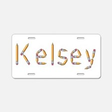 Kelsey Pencils Aluminum License Plate