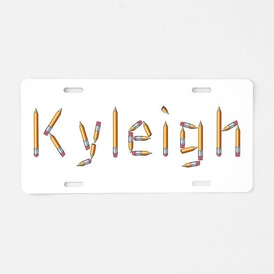 Kyleigh Pencils Aluminum License Plate