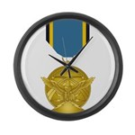 Aerial Achievement Medal Large Wall Clock