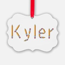 Kyler Pencils Ornament