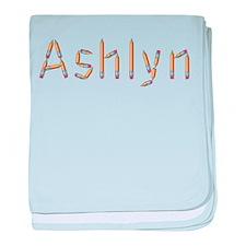 Ashlyn Pencils baby blanket