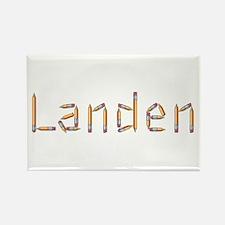 Landen Pencils Rectangle Magnet