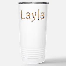 Layla Pencils Travel Mug