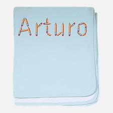 Arturo Pencils baby blanket