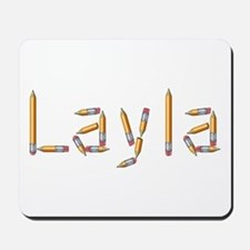 Layla Pencils Mousepad