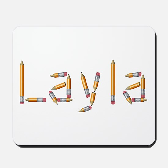 Layla Pencils Mousepad