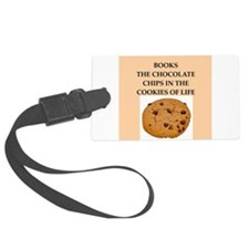 books Luggage Tag
