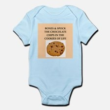 bones and spock Infant Bodysuit