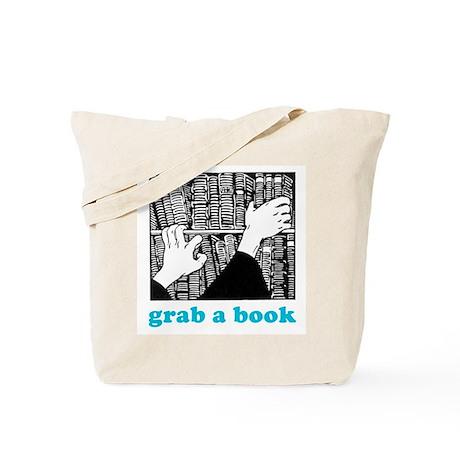 Grab a Book Tote Bag