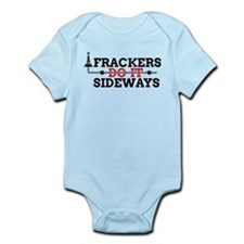 Frackers Do It Sideways Infant Bodysuit