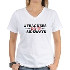 Frackers Do It Sideways Shirt