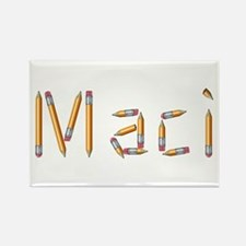 Maci Pencils Rectangle Magnet