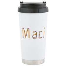 Maci Pencils Travel Coffee Mug