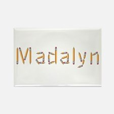 Madalyn Pencils Rectangle Magnet
