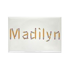 Madilyn Pencils Rectangle Magnet
