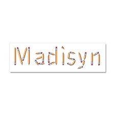 Madisyn Pencils 10x3 Car Magnet