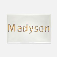 Madyson Pencils Rectangle Magnet