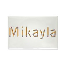 Mikayla Pencils Rectangle Magnet