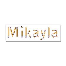 Mikayla Pencils 10x3 Car Magnet