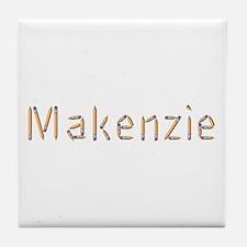 Makenzie Pencils Tile Coaster