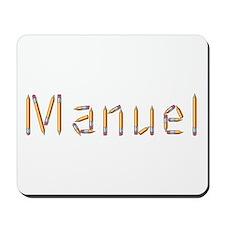 Manuel Pencils Mousepad