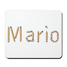 Mario Pencils Mousepad