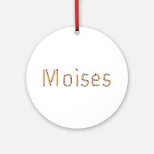 Moises Pencils Round Ornament