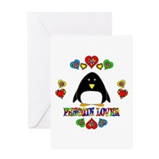 Penguin Lover Greeting Card