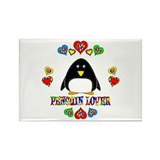 Penguin Lover Rectangle Magnet (100 pack)