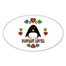 Penguin Lover Decal