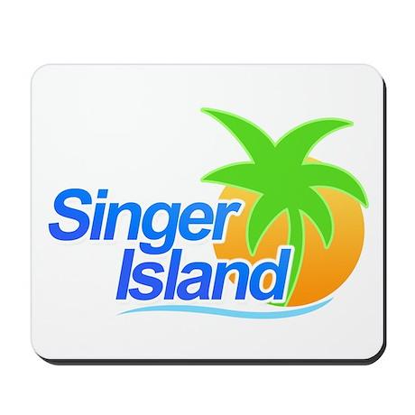 Singer Island Mousepad