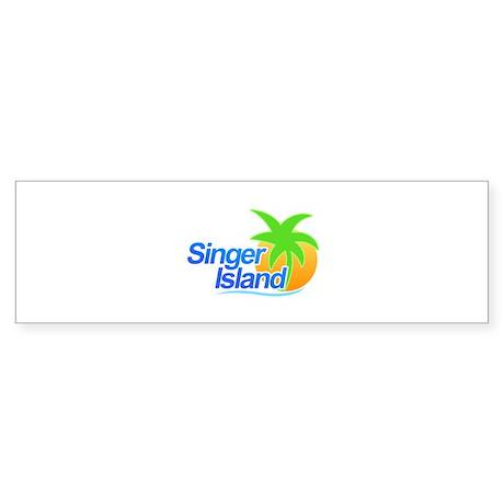 Singer Island Bumper Sticker