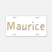 Maurice Pencils Aluminum License Plate