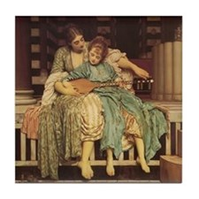 The Music Lesson Tile Coaster