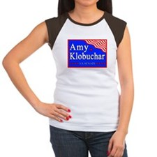 MN Amy Klobuchar US Senate Women's Cap Sleeve T-Sh