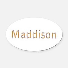 Maddison Pencils Oval Car Magnet